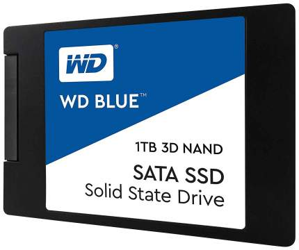 Внутренний SSD накопитель Western Digital Blue 1TB (WDS100T2B0A)