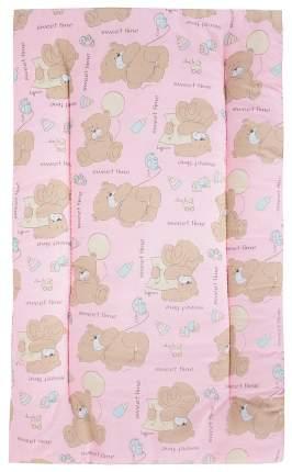 Комплект в коляску Leader Kids «Мишка с шариком» GL000742169, бязь, Розовый