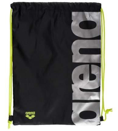 Рюкзак-мешок Arena Fast Swimbag 93605 черный/серебристый (50)