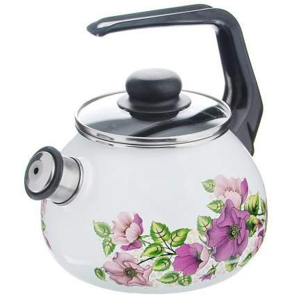 Чайник для плиты СТАЛЬЭМАЛЬ 1RA12 2 л