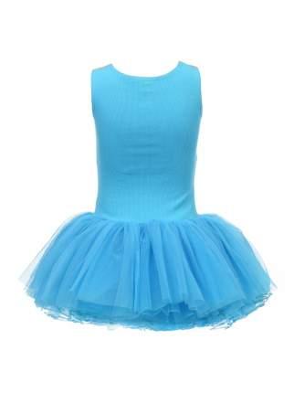 Платье Маленькая Леди Голубой р.116