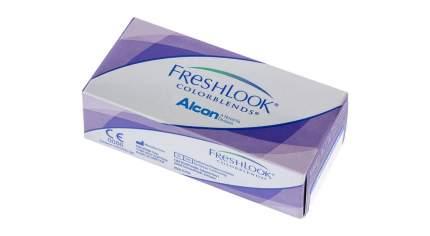 Контактные линзы FreshLook Colorblends 2 линзы -1,00 brilliant blue