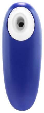 Синий бесконтактный клиторальный стимулятор Womanizer Starlet 2