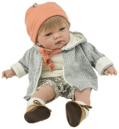 """Кукла """"Селио"""", в кофте и шапке, озвученная"""