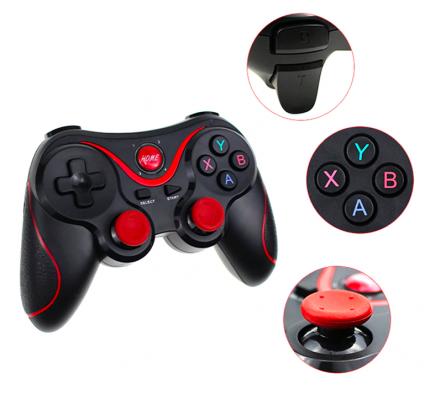 Геймпад Gen Game X3 Bluetooth 3887 Black