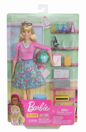Игровой набор с куклой Barbie Кем быть Учитель GJC23