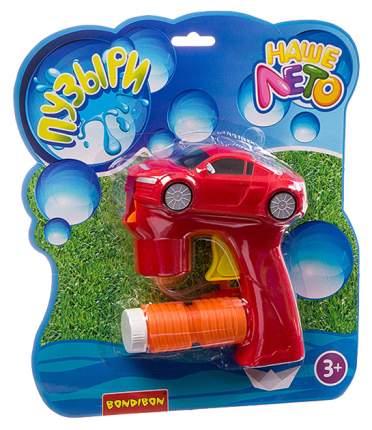 Пистолет с мыльными пузырями Bondibon Машина 50 мл ВВ2788