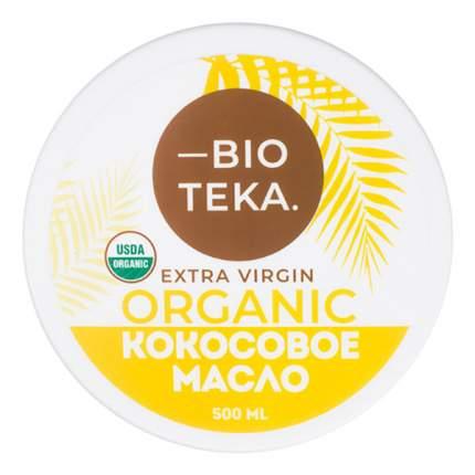 Кокосовое масло Bioteka нерафинированное extra virgin 500 мл