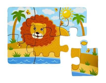 Пазл Мастер игрушек лев 6 деталей