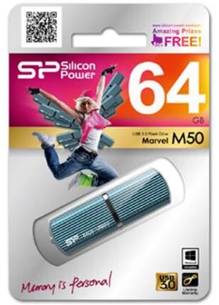 USB-флешка Silicon Power Marvel M50 64GB Blue (SP064GBUF3M50V1B)