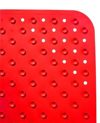 Коврик противоскользящий Plattfuß красный 38*72