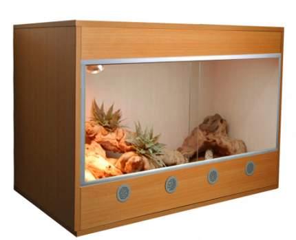 Террариум LUCKY REPTILE Стартовый комплект для Бородатых Агам деревянный, бук, 80x50x50 см