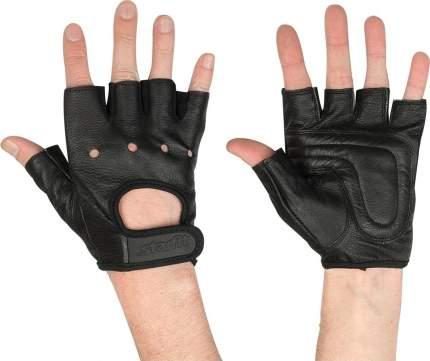 Перчатки для фитнеса StarFit SU-115, черные, L INT