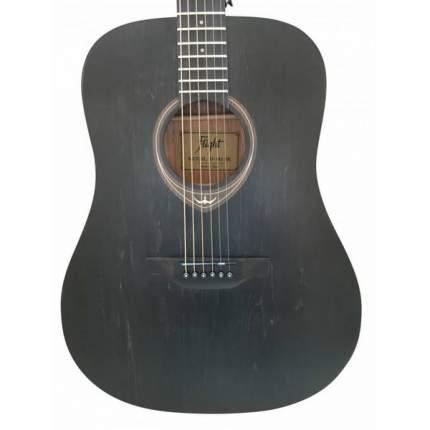 Акустическая гитара FLIGHT D-145 BK