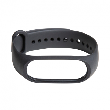 Ремешок силиконовый для Mi Band 3 Strap Black