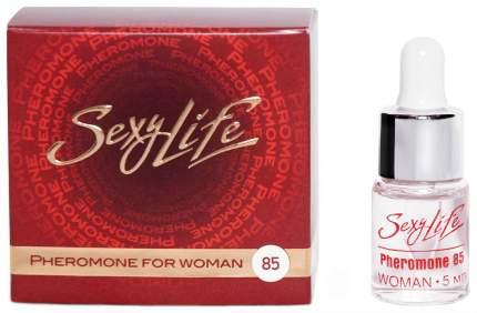 Концентрат феромонов для женщин Парфюм престиж Sexy Life 85% 5 мл