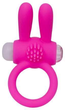 Эрекционное кольцо A-toys с ушками розовый