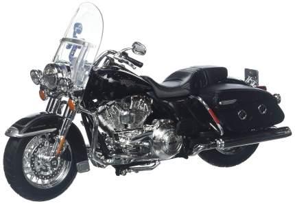 Мотоцикл Maisto черный Harley Davidson FLHRC Road King Сlassic 2013г 1:12