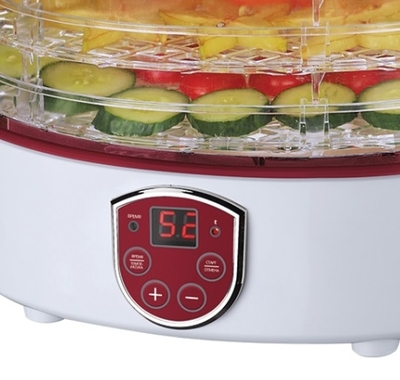 Сушилка для овощей и фруктов Marta  MT-1951 R/Ru