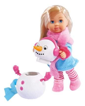 Кукла Simba Еви и снеговик