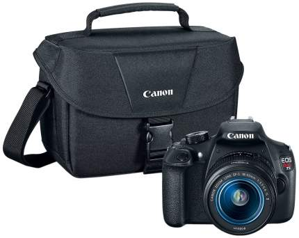 Фотоаппарат зеркальный Canon EOS 1200D 18-55mm IS + Bag Black