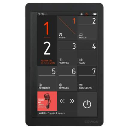 Портативный медиаплеер Cowon X9 8Gb Black