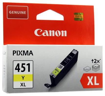 Картридж для струйного принтера Canon CLI-451 Y