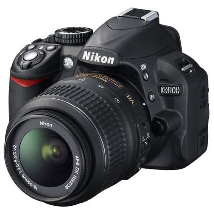 Фотоаппарат зеркальный Nikon D3100 18-55mm VR Black
