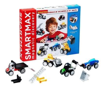 Магнитный конструктор smartmax/ Bondibon специальный (special) набор: мощная техника