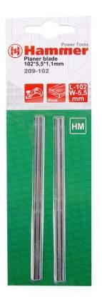 Нож для электрорубанка Hammer Flex 209-102 PB (35137)
