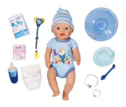 Кукла-мальчик интерактивная Zapf Creation Baby born 822-012, 43 см