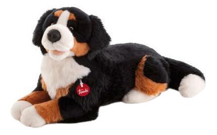 Мягкая игрушка Trudi Бернская овчарка Брюс, 57 см сидячая