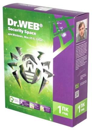 Антивирус Dr.Web Security Space 1 устройство, 1 год