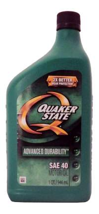 Моторное масло Quaker state Advanced Durability SAE 40 0,946л