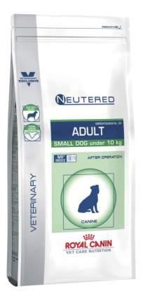 Сухой корм для собак ROYAL CANIN Vet Diet Neutered Adult Small Dog, курица; свинина, 3.5кг