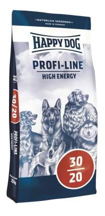 Сухой корм для собак Happy Dog Profi-Line High Energy, для активных, домашняя птица, 20кг