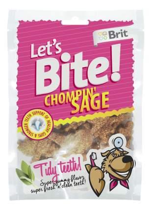 Лакомство для собак Brit Let's Bite, оригинальная форма, курица, 150г