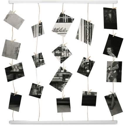 Панно для фотографий Umbra Hangit 315000-660 на 40 фото белый