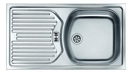 Мойка для кухни из нержавеющей стали Franke Eurostar ETN 614 1010060162 серебристый