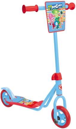 Самокат 1 Toy Фиксики Т58411 красно-голубой