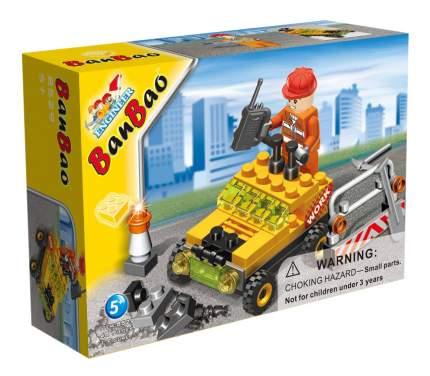 Конструктор пластиковый BanBao Строительная машинка