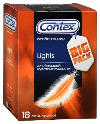 Презервативы Contex Lights 18 шт.