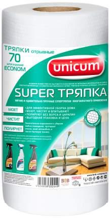 Тряпка для уборки Unicum Econom Тисненая 70 шт