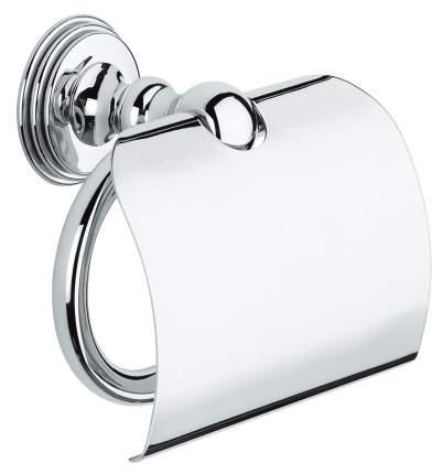 Держатель туалетной бумаги GROHE Sinfonia с крышкой, хром