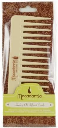 Гребень для волос, пропитанный маслом арганы и макадамии MACADAMIA Natural Oil