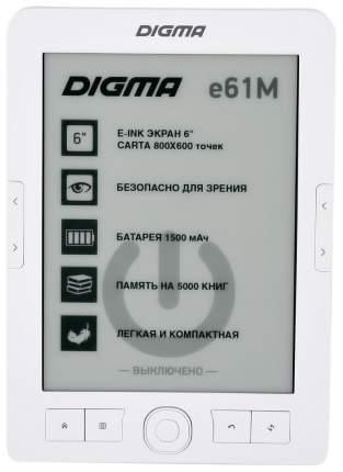 Электронная книга Digma E61M White