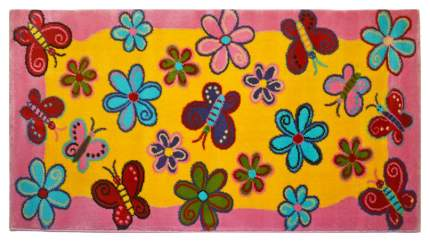 Ковер детский Kamalak tekstil желтый+бежевый 80х150 УКД-2041