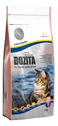 Сухой корм для кошек BOZITA Function Large, рыба, 2кг