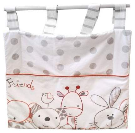 Текстильный карман в детскую кроватку Italbaby Rabbit 715,0021-7