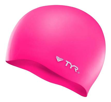 Шапочка для плавания TYR Wrinkle Free Silicone Cap 693 pink